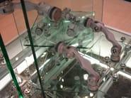 Aluminium Anchorage system and profile for a facade OXIDAL 1050 - Nuova Oxidal