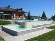 In-Ground natural stone swimming pool Swimming pool 10 - Garden House Lazzerini