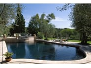 In-Ground natural stone swimming pool Swimming pool 11 - Garden House Lazzerini