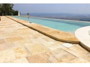 In-Ground natural stone swimming pool Swimming pool 12 - Garden House Lazzerini
