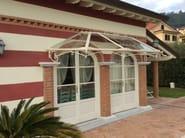 Iron door canopy Door canopy 7 - Garden House Lazzerini