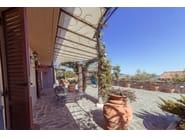 Iron door canopy Door canopy 11 - Garden House Lazzerini