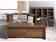 Adjustable aluminium floor lamp PADDLE   Floor lamp - Fabbian