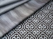 Fire retardant jacquard fabric with graphic pattern PALAZZO BROCCATO - l'Opificio