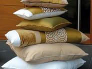 Fire retardant jacquard fabric with graphic pattern PALAZZO CAMOUFLAGE - l'Opificio
