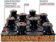 Radiant floor panel PANTHE BIO - PANTHERM