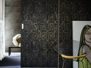 Motif geometric wallpaper PAPER EDGE - Wall&decò