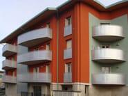Aluminium Window railing Aluminium balustrade - ALUSCALAE