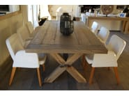 Rectangular oak table PARESSE - CABUY D.