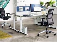Sedia ufficio operativa a 5 razze con braccioli con ruote PARO_2 | Sedia ufficio operativa con braccioli - Wiesner-Hager