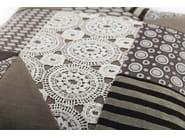 Square fabric cushion PATCHWORK - FRIGERIO POLTRONE E DIVANI