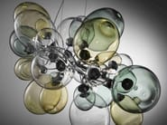 Direct light Pyrex® pendant lamp NUVOLA   Pendant lamp - IDL EXPORT
