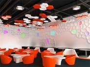 Hanging acoustical panels / pendant lamp NCM LA H600-900-1200HA | Pendant lamp - Neonny