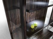 Wood and glass display cabinet PENSAMI | Display cabinet - ERBA ITALIA