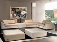 Divano angolare componibile in pelle di pecora PERFORMANCE | Divano - Tonino Lamborghini Casa