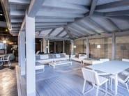 Pergolato in legno lamellare SCIROCCO - Progettoelleci by Lo Castro