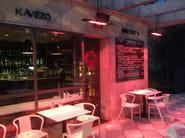 Infrared outdoor heater PETALO - Mo-el