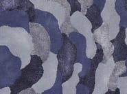 Handmade round rug PETALS ROUND - Deirdre Dyson