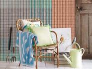 Panoramic tartan wallpaper PICNIC - Inkiostro Bianco