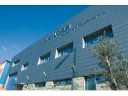 Continuous metal laminate for facade PIGMENTO® - UMICORE BUILDING PRODUCTS ITALIA