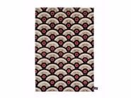 Rectangular wool rug with geometric shapes PILGRIMAGE IN TOKIO - cc-tapis ®