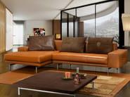Sectional Sheepskin sofa with chaise longue PILOT | Sofa - Tonino Lamborghini Casa