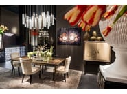 LED Murano glass pendant lamp PIPE LIGHT | LED pendant lamp - VGnewtrend
