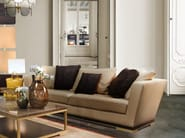 Upholstered 3 seater leather sofa PITTI | Sofa - Formitalia Group