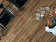 Porcelain stoneware wall/floor tiles with wood effect PLANKS CHOCOLATE - ASTOR CERAMICHE