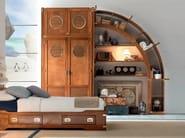 Sectional wooden bridge wardrobe PLAY | Wardrobe - Caroti