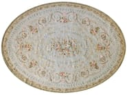 Handmade wool rug PLESSIE AUBUSSON - EDITION BOUGAINVILLE