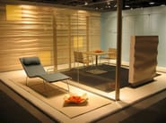 Plywood decorative acoustical panels PLY - SHOWROOM Finland