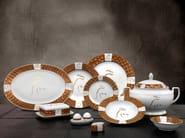 Set di piatti in porcellana TL RIBOT | Set di piatti - Tonino Lamborghini Casa by Formitalia Group