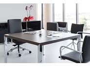 Wooden office desk PRISMA | Office desk - ACTIU
