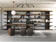 Open wooden bookcase BRIE   Bookcase - Riva 1920