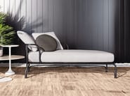 Outdoor bed LE PARC CHAISE LONGUE - Minotti