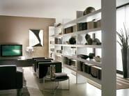 Double-sided divider bookcase LALTROGIORNO 811 - TUMIDEI