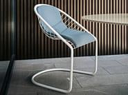 Outdoor chair CORTINA CHAIR OUTDOOR - Minotti