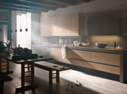 Elm fitted kitchen ARTEMATICA OLMO TATTILE - VALCUCINE