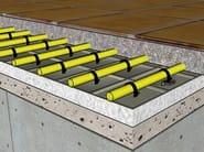 Radiant floor panel PANTHE - PANTHERM