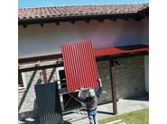 Roof panel in opaque plastic laminate ELYONDA LT - BRIANZA PLASTICA