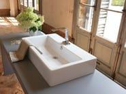 Countertop rectangular washbasin WASHBASINS | Rectangular washbasin - NEWFORM