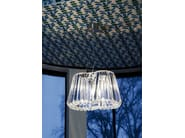 Indirect light glass chandelier GLITTERS | Chandelier - Lasvit