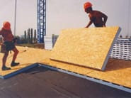 EPS thermal insulation panel Ventilated roof - Cabox