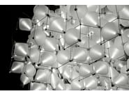 Modular blown glass chandelier SUPERCLOVER - Lasvit