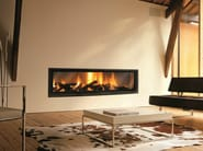 Wood-burning built-in fireplace GIGAFOCUS - Focus