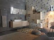 Single wall-mounted vanity unit FREE 24/25 - Cerasa