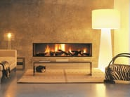 Built-in fireplace with panoramic glass NEOFOCUS - Focus