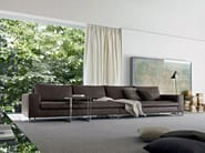 Sectional leather sofa LARGE | Leather sofa - MOLTENI & C.