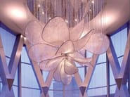 Indirect light crystal chandelier PEONY - Lasvit
